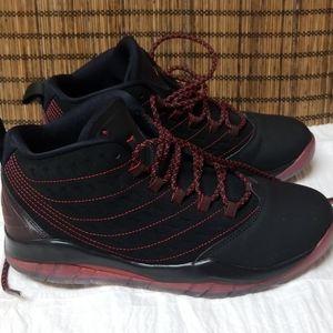AIR JORDAN Black and Red Velocity BG